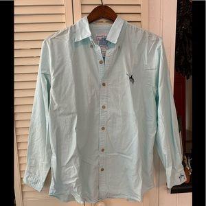 Guy Harvey Long Sleeve Cotten Button Down Shirt
